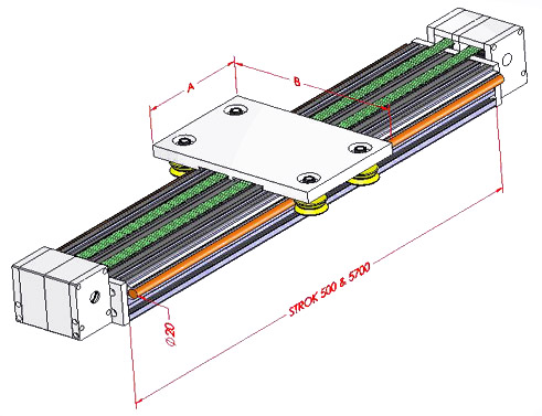 Roller Timing Module 90x180 Schematic